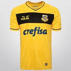 Camisa Pulse São Bernardo I 2015 s/nº - Amarelo