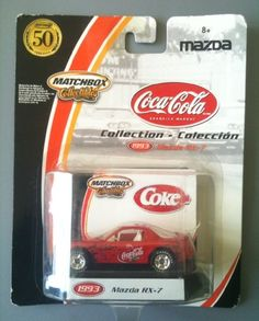 Matchbox Collectibles - Coca-Cola Collection 1993 MAZDA R...