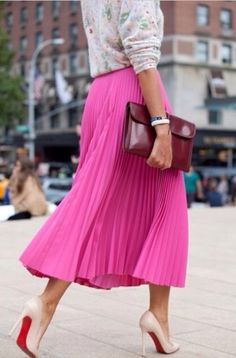Daily Chic Pink #fashion #styles