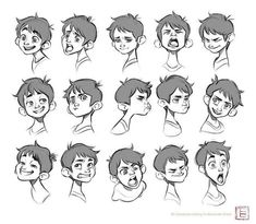 #Tbchoi #expression #kid #tbscetches #artistoninstagram #artist #aniamtion #animationdrawing #face #characterdesign
