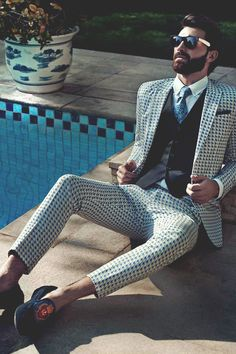 Mens Fashion // Summer Sunshine © | Assured To Inspire