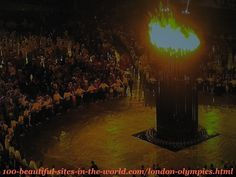 London Olympics 2012. The copper petals of the torch when the cauldron lifted up.