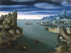 Voici un tableau intitulé « Paysage avec Saint Christophe », de Joachim Patinir, peintre flamand actif pendant la période de la Haute Renaissance, et spécialiste du paysage. «…