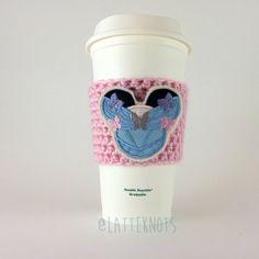 Princess Cinderella Coffee Cup Cozy / Crochet Coffee by LatteKnots
