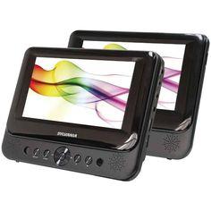SYLVANIA SDVD8739 7 Dual-Screen Portable DVD Player