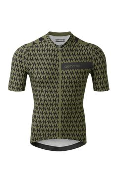 Mens Houndstooth Cycle Jersey - ashmei - Run Cycling Clothing, Cycling Outfit, Run Cycle, Cycling Jerseys, Textile Patterns, Houndstooth, Pattern Design, Fabric, Clothes