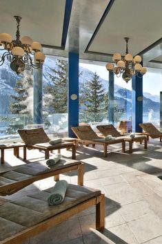Pamper yourself with a visit to the spa, which offers massages, body treatments, and facials. Carlton Hotel St. Moritz (Switzerland) - Jetsetter