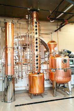 Beautiful Barison Still | The Depot Craft Brewery & Distillery