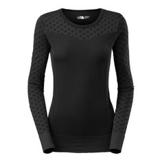 The North Face Seamless Scarlette Shirt - Long Sleeve (For Women) in Tnf Black
