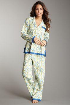 BedHead Fine Cotton Royal Ribbon Pajama Set