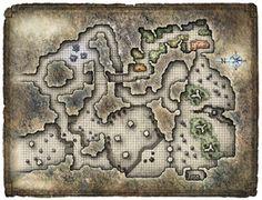 Maps - Dungeons & Ruins - Minus