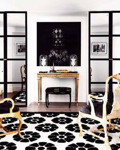 Rachellabelle Interiors: REALTOR®, Interior Decorator & Home Stager in Edmonton, AB: Black, White & Gold