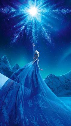 La Reine des neiges #iphone #wallpaper