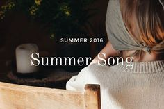 """new collection """"Summer Song"""" is available now! Inspired by the short yet sweet Scandinavian summers, the collection includes light and soft sweaters in wool-cotton-blend- and pima cotton-yarns for children and women • images were shoot by Esther Meinel-Zottl"""