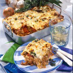Gyros-Lasagne Rezept