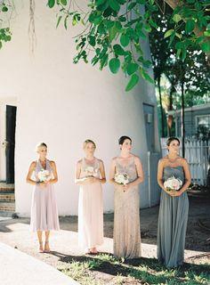 ¿Te gustaría tener tus damas de honor o bridesmaids?