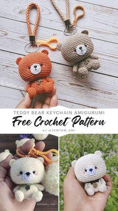 Free Crochet, Free Pattern, Crochet Patterns, Teddy Bear, Amigurumi, All Free Crochet, Crochet Pattern, Sewing Patterns Free, Teddy Bears