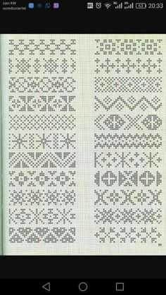 Cross Stitch Borders, Cross Stitch Designs, Cross Stitching, Cross Stitch Patterns, Knitting Charts, Knitting Patterns, Knit Stranded, Chicken Cross Stitch, Fair Isle Knitting