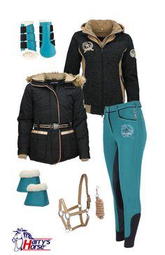 ..Harry's Horse Brown-Turquoise W15 - Epplejeck