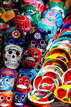 Mexican pottery, Chichen Itza, Mexico