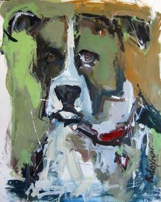 Pet Portraits Expressive affordable and by RobertJoynerFineArt