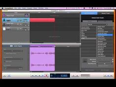 How To Record Audio Using Garage Band for Mac (BASIC)