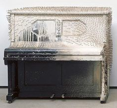 Günther Uecker, Piano, 1964
