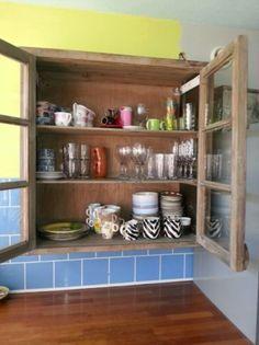 ... voor keukenkastjes Trefwoorden: grutterskast, gebruikte keukenkast