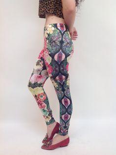 Flowers of St. Albans Printed Legging