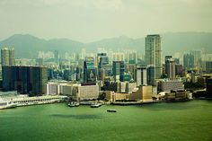 Hongkong Kowloon Skyline by Pixelart on 500px