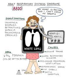 "adenosinetriesphosphate: "" Acute Respiratory Distress Syndrome (ARDS) """