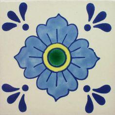 Especial Decorative Tile - Dondiego Del Dia II - Mexican Tile Designs