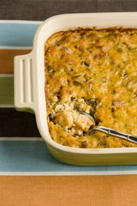 SHRIMP AND WILD RICE CASSEROLE from Paula Deen