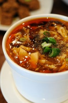 Hot and Sour Soup - use tofu or shrimp instead of chicken - You Don't Need Take-Out When You Can Make This at Home!