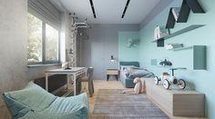 Unique and colorful kids room design. Room Interior, Interior Design, Home Goods Decor, Home Decor, Teenage Room, Kids Room Design, Boy Room, Nursery Room, Nursery Ideas