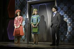 little Daniel Radcliffe, all grown up and acting on Broadway. [How to Succeed in Business Without Really Trying]