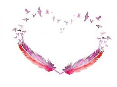 If you like hearts, this is a great idea for a tattoo. Love this for in between my shoulders. In the center of my back!!