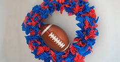 Show Your Spirit with This Plastic Table Cover Wreath… for Less than $5!