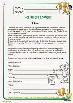 Educar X: Atividades meio ambiente 5° ano