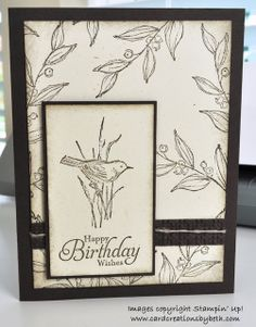 Card Creations by Beth: Why are masculine cards so difficult?