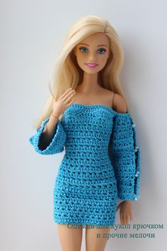 Вечерние платья для Барби