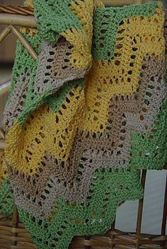Ravelry: Simple Summer Baby Blanket