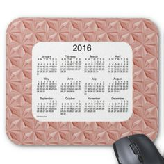 Rose Diamonds 2016 Calendar Mouse Pad  Design from Calendars by Janz