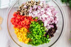 The Best Cowboy Caviar Dip It's sweet and savory, light and satisfying. This pretty cowboy caviar dip tastes as good as it looks. Healthy Dips, Healthy Appetizers, Appetizer Recipes, Healthy Recipes, Elegant Appetizers, Caviar Recipes, Bean Salad Recipes, Cowboy Caviar Dip, Cowboy Dip