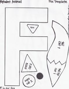 Friday october 19 2012 elephant template e is for elephant miss marens monkeys preschool fox template spiritdancerdesigns Choice Image