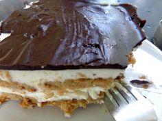 Εύκολο γλυκό ψυγείου με 5 ευρώ κι έτοιμο σε 5 λεπτά! - Fanpage Greek Recipes, Desert Recipes, Kos, Cold Deserts, Construction Party, Easy Desserts, Vanilla Cake, Food Videos, Delish