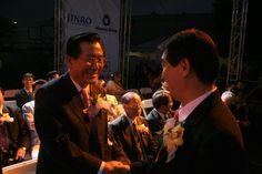 전남 박준영도지사 LA축제에 참석을 하다