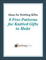 9 Free Knitted Gift Patterns