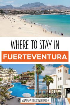 From Barceló Corralejo Bay to Occidental Jandía Royal Level, here is where to stay in Fuerteventura for an amazing holiday next year! Fuerteventura is one of the most popular places to visit in the Canary Islands - these are some of the top hotels for that perfect getaway. #Fuerteventura #FuerteventuraHotels #FuerteventuraAccommodation #WhereToStayInFuerteventura #PlacesToStayInFuerteventura #CanaryIslands #Spain
