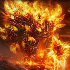 ragnaros,warcraft-Warcraft, Ragnaros the Firelordragnar ragnaros warcraft hearthstone blizzard wow card game omg style picture concept Fantasy Demon, Demon Art, Fantasy Monster, Monster Art, Dark Fantasy Art, Fantasy Artwork, Fantasy World, Warcraft Art, World Of Warcraft